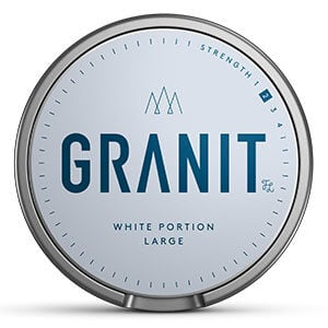 Snusnetto Granit White Portion
