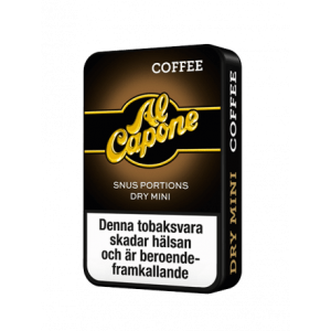 Snusnetto Al Capone Coffee