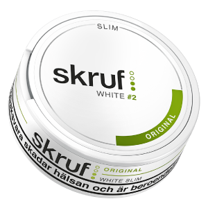 Snusnetto Skruf Slim Original White