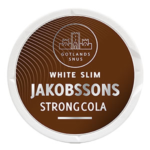 Jakobssons White Slim Strong Cola