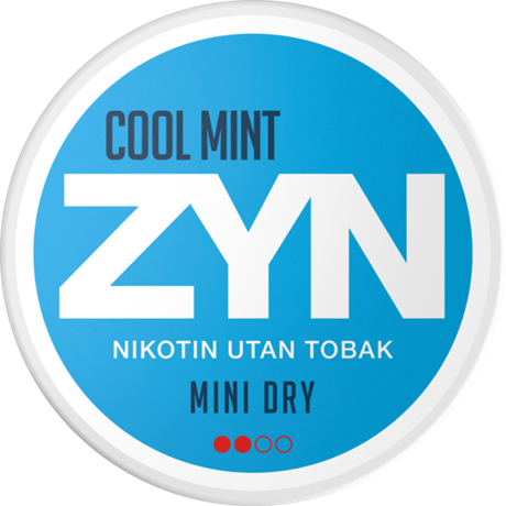 ZYN Cool Mint 3mg (5-pack)
