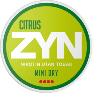 ZYN Citrus 6mg (5-pack)