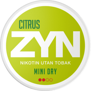 ZYN Citrus 3mg (5-pack)