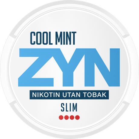 ZYN Slim Cool Mint Extra Strong (5-pack)