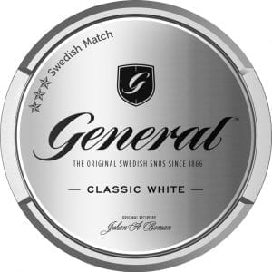General White Portionssnus