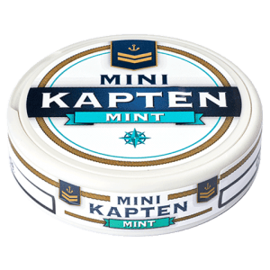 Kapten Vit Mint Mini