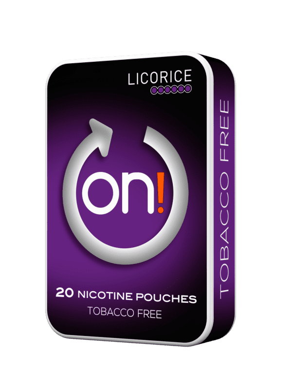 on! Licorice 6 mg (5-pack)