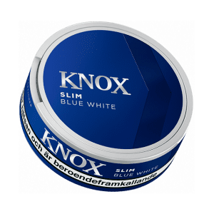 Knox Slim Blue White Portionssnus