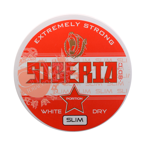 Siberia -80 Degrees White Dry Slim Portion (*)