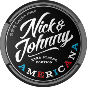 Snusnetto Nick Johnny Americana Portion Extra Strong