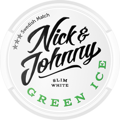 Snusnetto Nick Johnny Green Ice White Slim