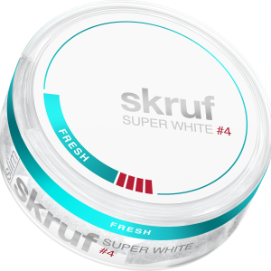 Snusnetto Skruf Fresh White 4