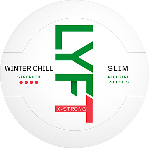 Snusnetto Lyft Winter Chill X-Strong Slim
