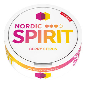 Snusnetto Nordic Spirit Berry Citrus Slim Strong