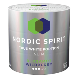 Snusnetto NordicSpirit Bergamot Wildberry Slim