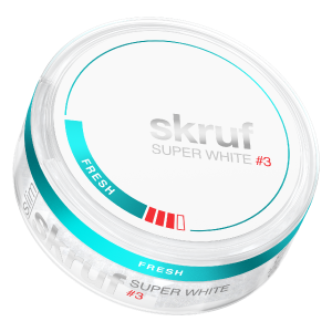 Snusnetto Skruf Super White Fresh 03