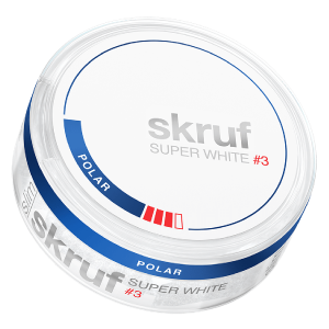 Snusnetto Skruf Super White No3 Polar