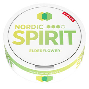 Snusnetto Nordic Spirit True White Elderflower