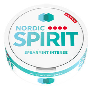 Snusnetto Nordic Spirit Spearmint Intense Slim X-Strong