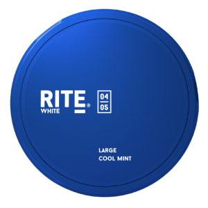 SNUSNETTO Rite White Cool Mint LARGE