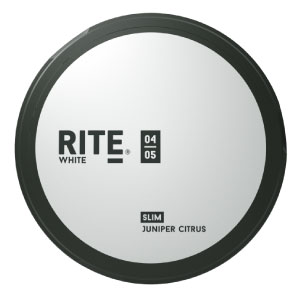 SNUSNETTO Rite White Juniper Citrus SLIM