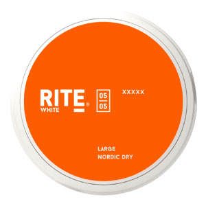 SNUSNETTO Rite White Nordic Dry LARGE