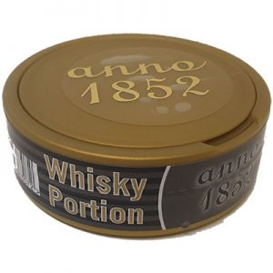 X2 Anno 1852 Whiskey Portionssnus