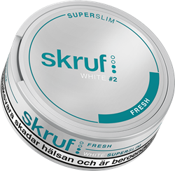 Skruf Super Slim Fresh White Portion #2