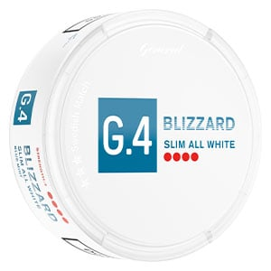 Snusnetto G.4 Blizzard Slim All White