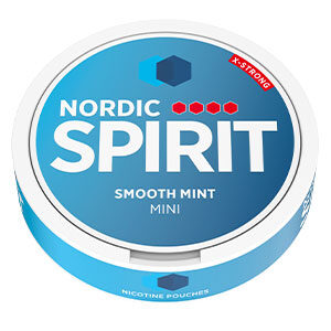 Snusnetto Nordic Spirirt Smooth Mint Mini X-Strong