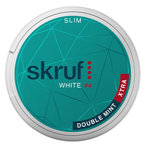 Snusnetto Skruf Double Mint Xtra White Slim #4