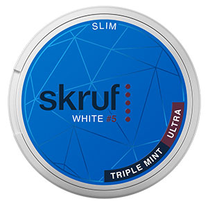 Snusnetto Skruf Triple Mint Ultra White Slim #5