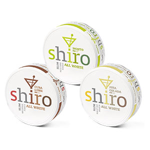 Snusnetto Shiro Drink Mix