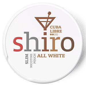 Snusnetto Shiro Cuba Libre All White Portion