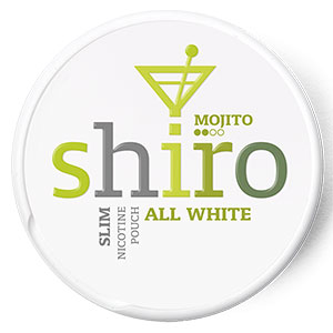 Snusnetto Shiro Mojito All White Portion