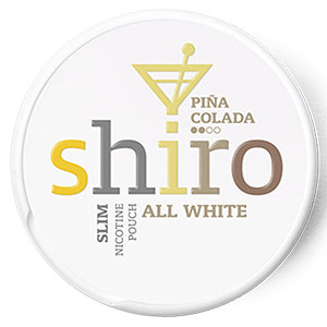 Snusnetto Shiro Pina Colada All White Portion
