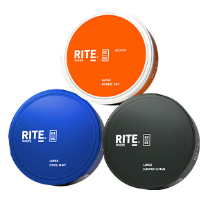 SNUSNETTO Rite White Large Mix 3-pack