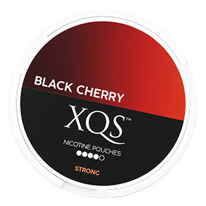 Snusnetto XQS Black Cherry Slim All White Portion Strong