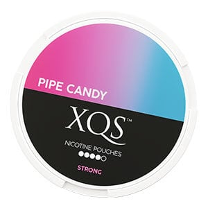 Snusnetto XQS Pipe Candy Slim All White Portion Strong