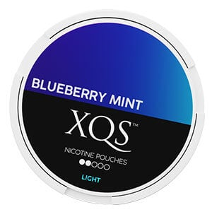 XQS Nicotine Pouches Bluberry Mint Light