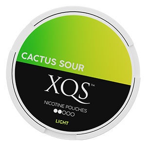 XQS Cactus Sour Slim All White Portion Light