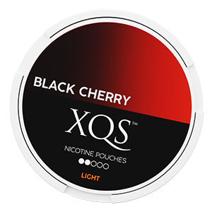 Snusnetto XQS Black Cherry Slim All White Portion Light