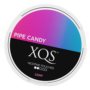 Snusnetto XQS Pipe Candy Slim All White Portion Light