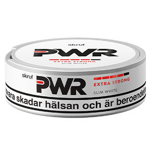 Snusnetto Skruf PWR Extra Strong Slim White #4