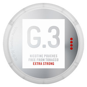 Snusnetto G.3 Nicotine Pouches Extra Strong