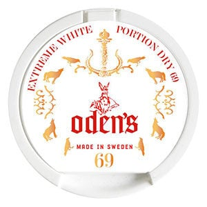 Snusnetto Odens 69 Extreme Portion White Dry Portionssnus