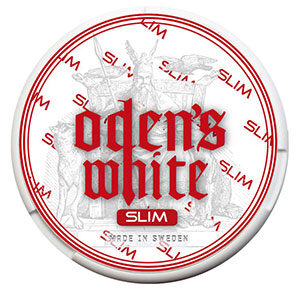 Snusnetto Odens Cold Extreme Slim White Portionssnus