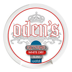 Snusnetto Odens Cold Slim Extreme White Dry Portionssnus
