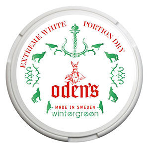 Snusnetto Odens Wintergreen Extreme White Dry Portionssnus